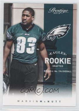 2012 Playoff Prestige #289 - Marvin McNutt