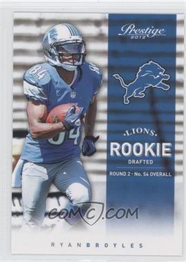 2012 Playoff Prestige #292 - Ryan Broyles