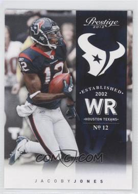 2012 Playoff Prestige #77 - Jacoby Jones