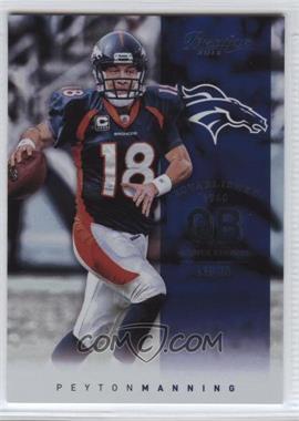 2012 Playoff Prestige #82 - Peyton Manning
