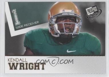 2012 Press Pass - [Base] - Gold #50 - Kendall Wright