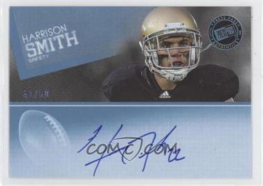 2012 Press Pass - Signings - Blue #PPS-HS - Harrison Smith /50