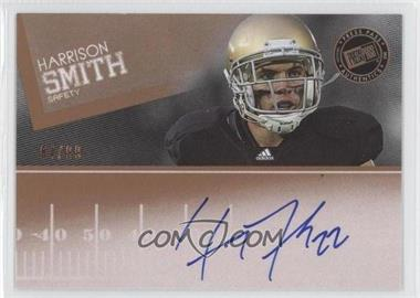 2012 Press Pass - Signings - Bronze #PPS-HS - Harrison Smith /99