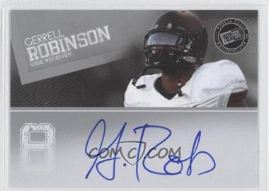 2012 Press Pass - Signings #PPS-GR - Gerell Robinson