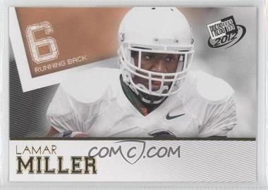 2012 Press Pass [???] #34 - Lamar Miller
