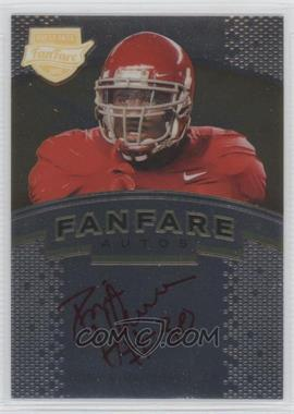 2012 Press Pass Fanfare Gold Red Ink #FF-DH - Dont'a Hightower