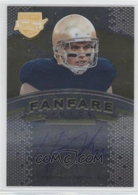 2012 Press Pass Fanfare Gold #FF-HS - Harrison Smith