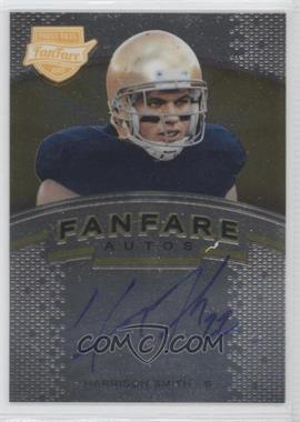 2012 Press Pass Fanfare Gold #FF-HS.1 - Harrison Smith