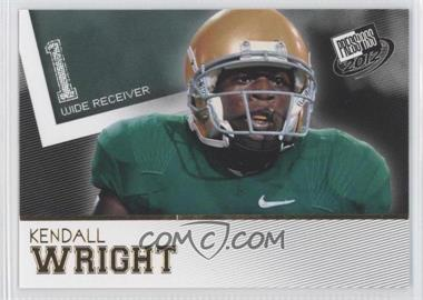2012 Press Pass Gold #50 - Kendall Wright