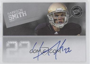 2012 Press Pass Signings #PPS-HS - Harrison Smith