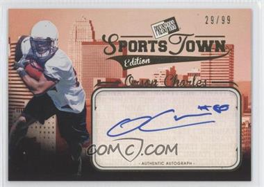 2012 Press Pass Sports Town Edition Autographs - [Base] - Gold #ST OC - Orson Charles /99