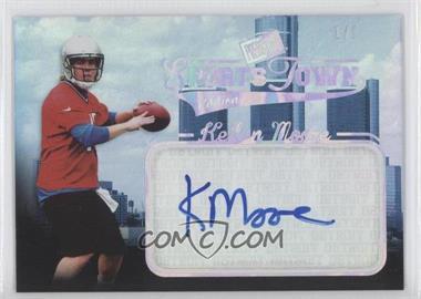 2012 Press Pass Sports Town Edition Autographs Melting Foil #ST KM - Kellen Moore /1