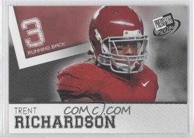 2012 Press Pass #41 - Trent Richardson