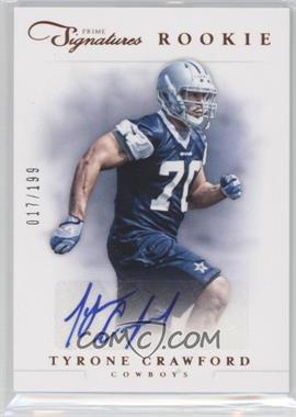 2012 Prime Signatures #239 - Tyrone Crawford /199