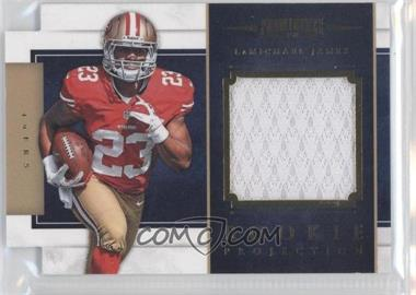 2012 Prominence Rookie Projection Materials Die-Cut #12 - LaMichael James /299