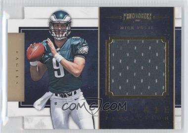 2012 Prominence Rookie Projection Materials Die-Cut #17 - Nick Foles /299