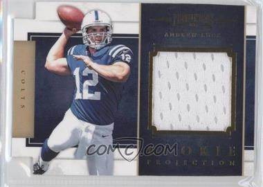 2012 Prominence Rookie Projection Materials Die-Cut #24 - Andrew Luck /299