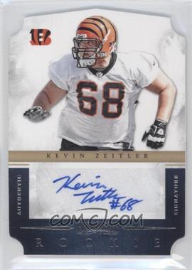 2012 Prominence Rookie Signatures Die-Cut #169 - Kevin Zeitler /499