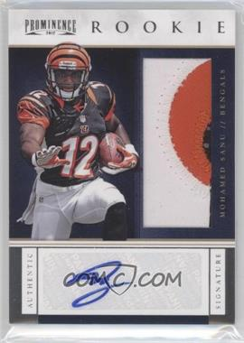2012 Prominence Rookie Signatures Jerseys Prime #234 - Mohamed Sanu /140