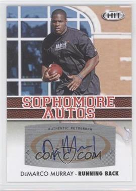 2012 SAGE Hit [???] #A19 - DeMarco Murray