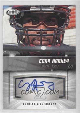 2012 SAGE Hit Autographs Silver #A87 - Cory Harkey
