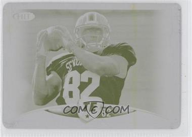 2012 SAGE Hit Printing Plate Yellow #26 - Michael Egnew