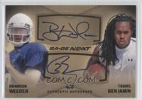 Brandon Weeden, Travis Benjamin /5