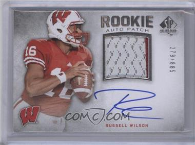 2012 SP Authentic - [Base] #272 - Russell Wilson /885