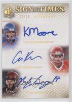 Kellen Moore, Case Keenum, Ryan Lindley /20