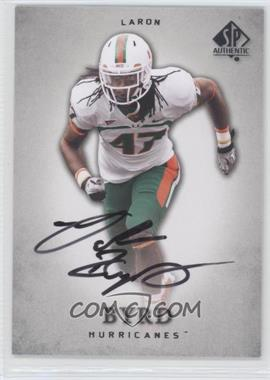 2012 SP Authentic Autographs [Autographed] #67 - LaRon Byrd