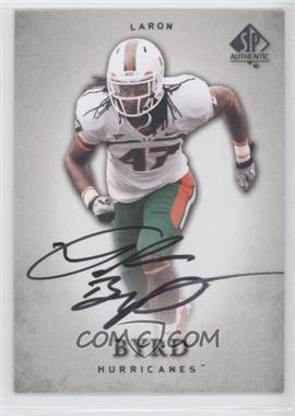2012 SP Authentic Autographs [Autographed] #67 - LaRon Byrd