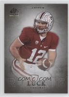 Andrew Luck (silver no auto)