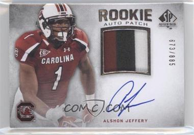 2012 SP Authentic #266 - Alshon Jeffery /885