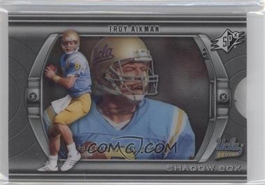 2012 SPx Shadow Box #SB-TA - Troy Aikman