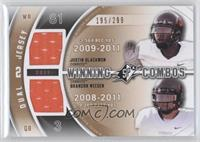 Brandon Weeden, Justin Blackmon /299