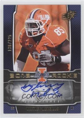 2012 SPx #144 - Whitney Mercilus /225
