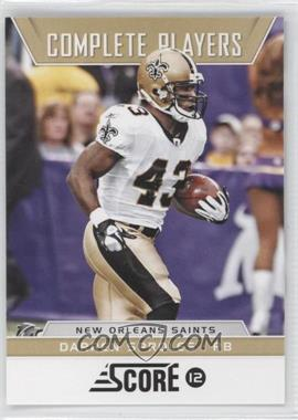 2012 Score Complete Players #3 - Darren Sproles