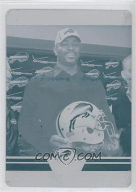 2012 Score Printing Plate Cyan #13 - Mario Williams /1