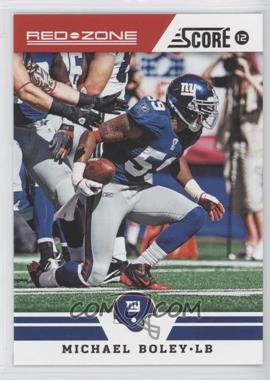 2012 Score Red Zone #39 - Michael Boley /20