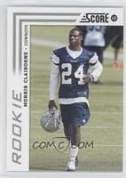 Morris Claiborne short print: full body shot