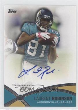 2012 Topps - Prolific Playmakers Autographs - [Autographed] #PPA-LR - Laurent Robinson
