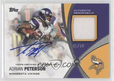 2012 Topps - Prolific Playmakers Autographs Relics - [Autographed] #PPAR-AP - Adrian Peterson