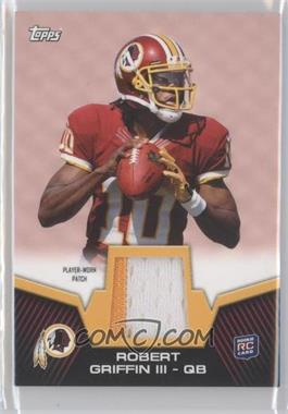 2012 Topps - Rookie Patch #RP-RG - Robert Griffin III