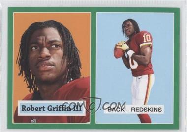 2012 Topps 1957 Topps Design Rookies Green #4 - Robert Griffin III