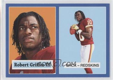2012 Topps 1957 Topps Design Rookies Wal-Mart Blue #4 - Robert Griffin III