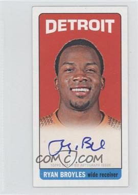 2012 Topps 1965 Topps Design Rookie Autographs #172 - Ryan Broyles