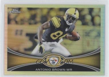 2012 Topps Chrome - [Base] - Refractor #106 - Antonio Brown