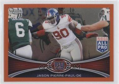 2012 Topps Chrome - [Base] - Retail Orange Refractor #76 - Jason Pierre-Paul
