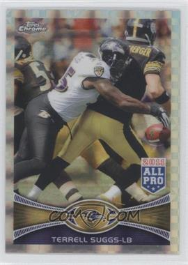 2012 Topps Chrome - [Base] - Retail X-Fractor #178 - Terrell Suggs