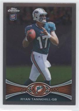 2012 Topps Chrome - [Base] #109.1 - Ryan Tannehill (Ball in Right Hand)